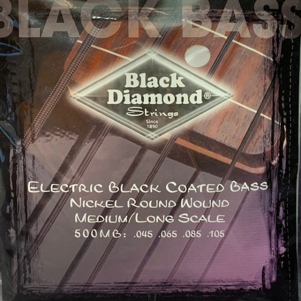 Black Diamond N500MB Black Coated Nickel Bass 45-105