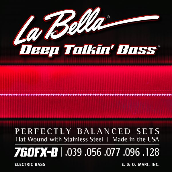 La Bella 760FX-B Deep Talkin' Bass 5 XL