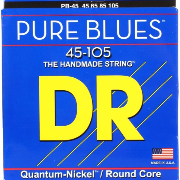 DR PB-45 Pure Blues Quantum Nickel 45-105