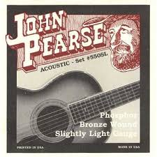 John Pearse 550SL Phosphor Bronze Slightly Light 11-50