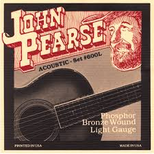 John Pearse 600L Phosphor Bronze Light 12-53