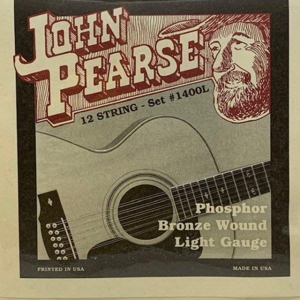 John Pearse 1400L Phosphor Bronze Light 12 String