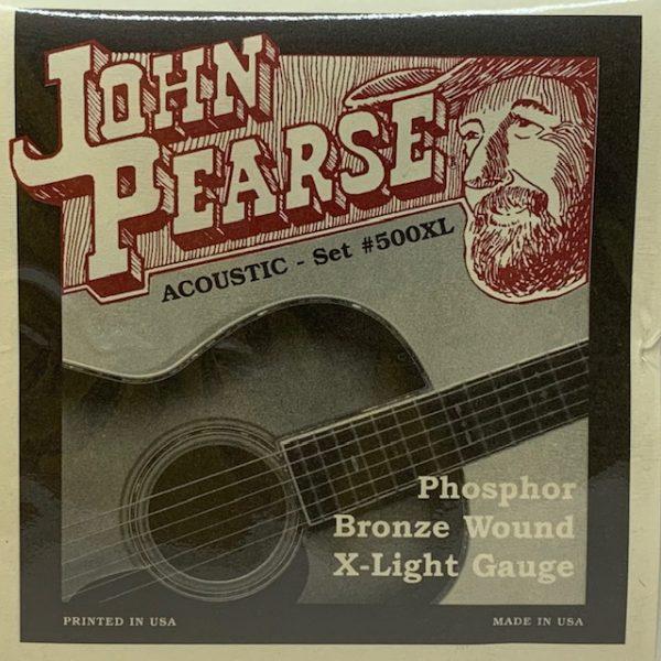 John Pearse 500XL Phosphor Bronze Extra Light 10-47