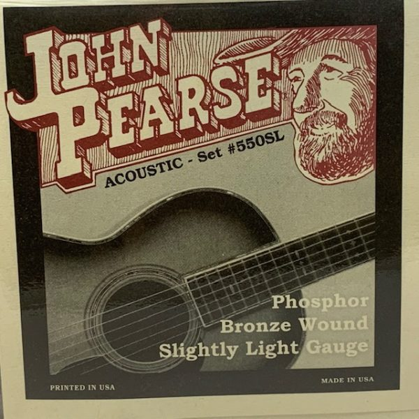 John Pearse 550SL Phosphor Bronze Slightly Light 11-50