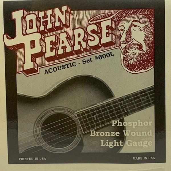 John Pearse 600L Phosphor Bronze Light 12-53