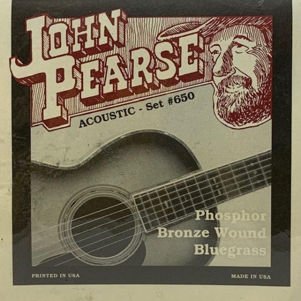 John Pearse 650LM Phosphor Bronze Bluegrass 12-56