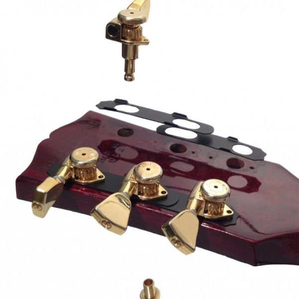 Hipshot Guitar Tuner Upgrade Kit 3+3 open chrome
