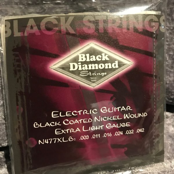 Black Diamond Electric Black Coated Nickel Wound Extra Light