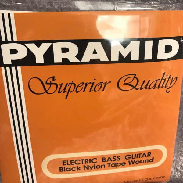 Pyramid Black Nylon tape wound