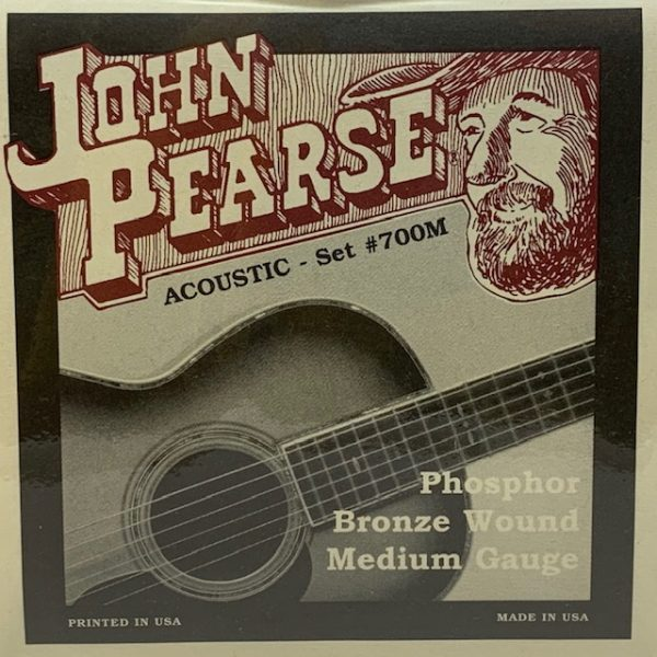 John Pearse JP700M Phosphor Bronze Medium 13-56