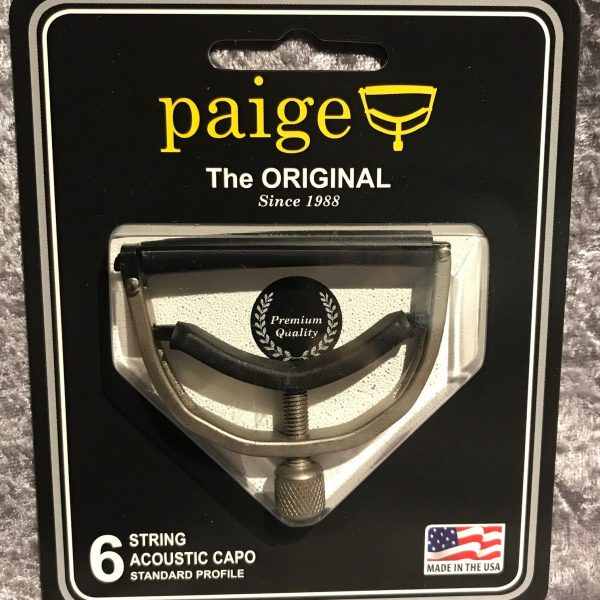Paige P-6N Capo Brushed Nickel