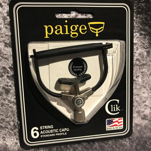 Paige Clik 6 string capo standard profile