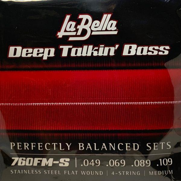 La Bella 760FM-S Deep Talkin' Bass Medium Short Scale