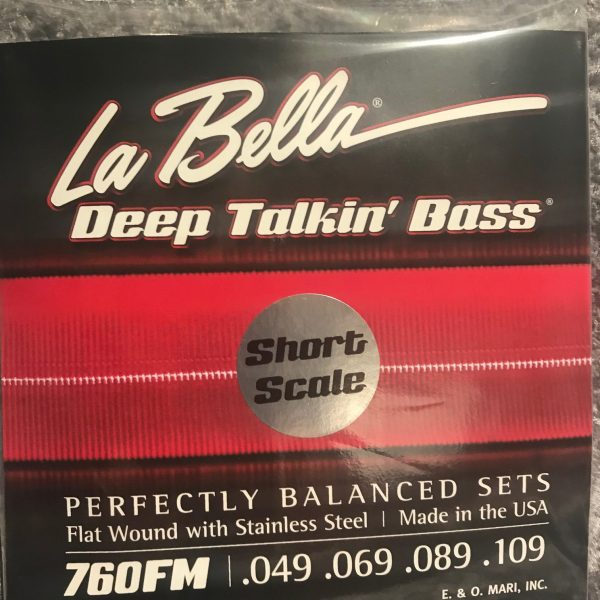 La Bella 760FM-S Deep Talkin' Bass Medium Short Scale