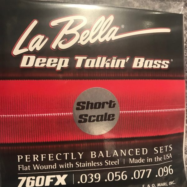 La Bella 760FX-S Deep Talkin' Bass extra light Short Scale