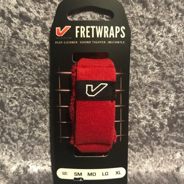 "Gruv Gear Fret Wraps HD ""Fire"" string muter small red"