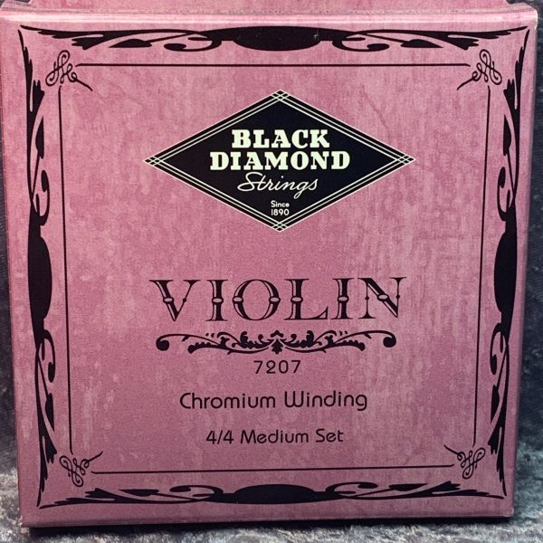 Black Diamond 7207 Violin strings