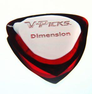 V-Picks Dimension Ruby Red
