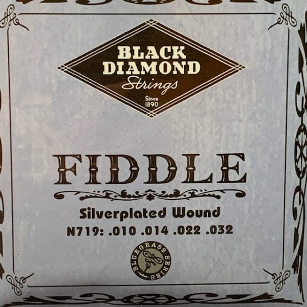 Black Diamond N719 Silver Plated fiddle strings