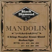 Black Diamond N772 Mandolin strings