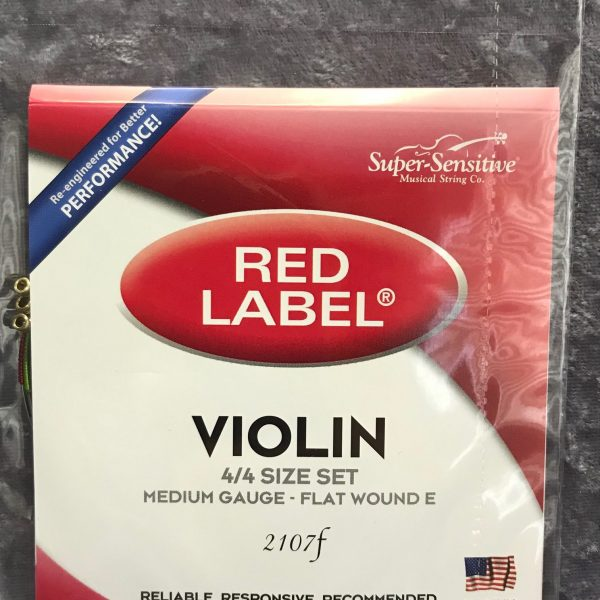 Red Label 2107F Violin strings
