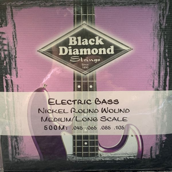 Black Diamond 500M Nickel Round Wound medium