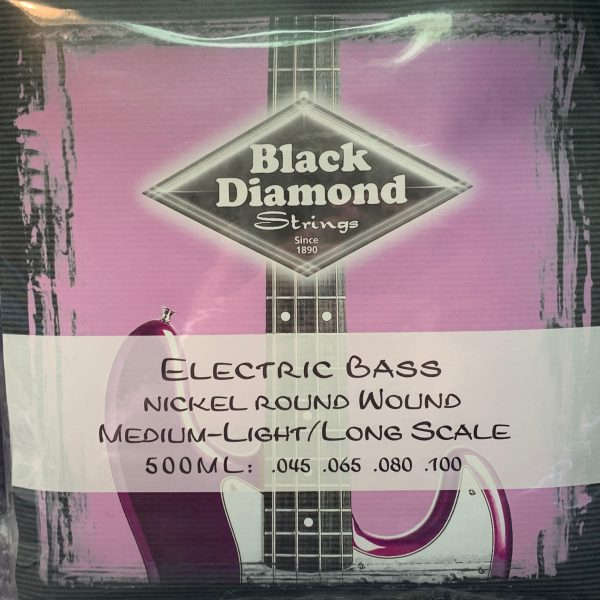 Black Diamond 500ML Nickel Round Wound medium light