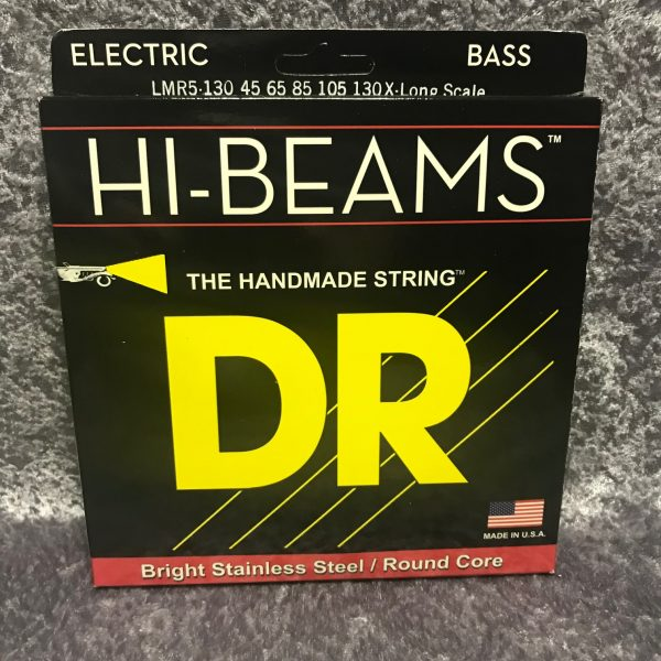 DR HI-BEAMS LMR5-130 extra long scale 5 string