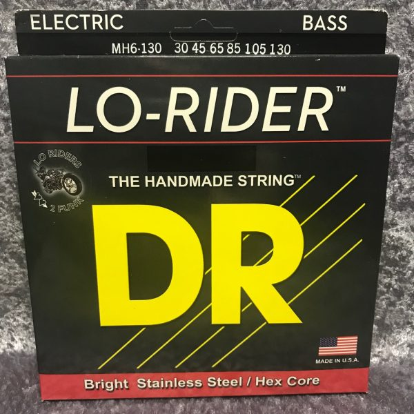 DR LO-RIDER MH6-130 6 string bass