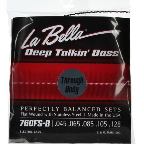 La Bella 760FS-B-TB Deep Talkin' Bass 5 string through body
