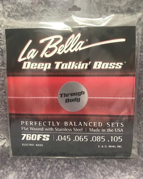 La Bella 760FS-TB Deep Talkin' Bass Through Body