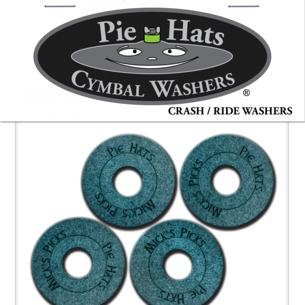 Pie Hat Cymbal Washers (Crash and Ride) 4 pack