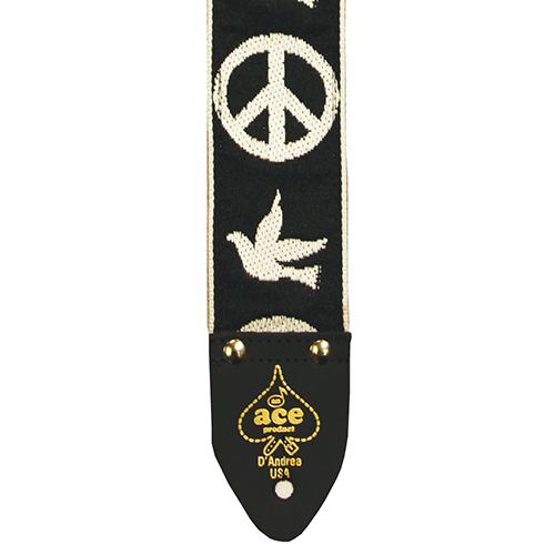Ace 6 Peace/Dove Vintage Reissue guitar strap