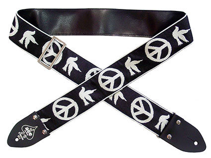 Ace 6 Peace/Dove Vintage Reissue guitar strap