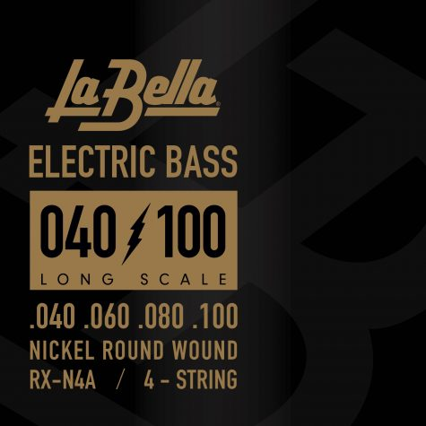 La Bella RX-N4A Nickel wound bass