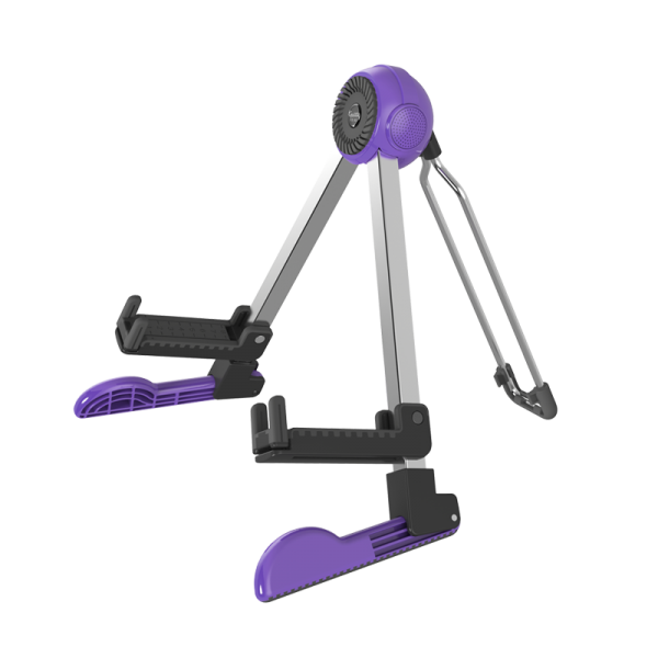 Joyo Guitto GGS-03 Robot Guitar Stand Purple