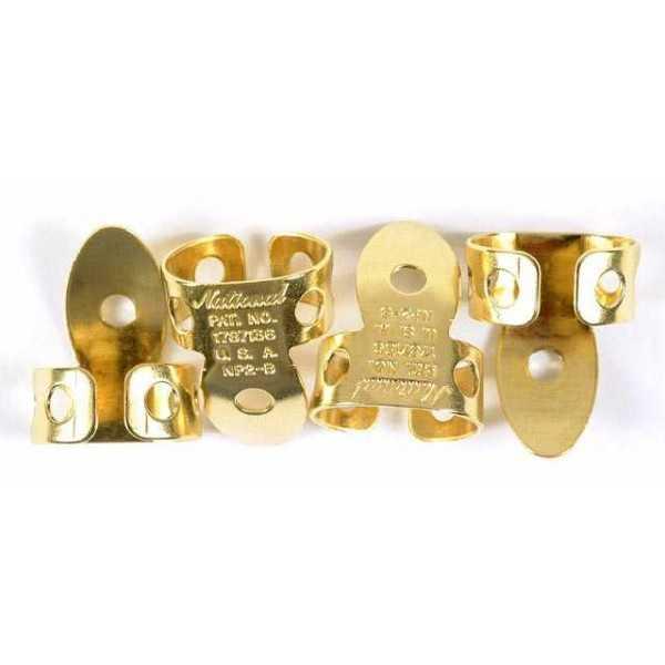 National finger picks NP2B-4PK Brass 4 pack