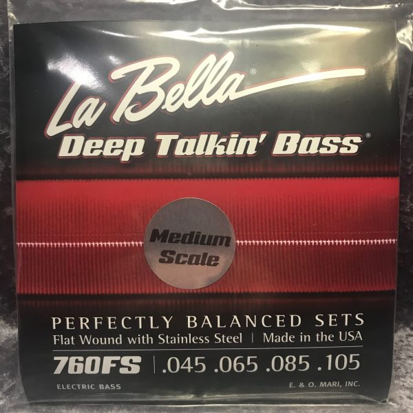 La Bella 760FS-M Deep Talkin' Bass Medium Scale