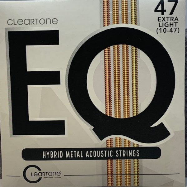 Cleartone EQ Hybrid Metal Acoustic Strings extra light