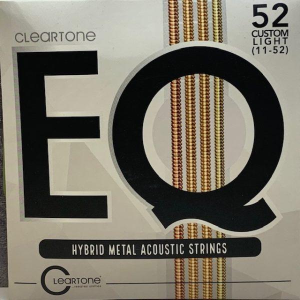 Cleartone EQ Hybrid Metal Acoustic Strings custom light