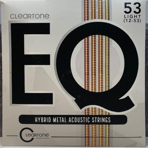 Cleartone EQ Hybrid Metal Acoustic Strings light