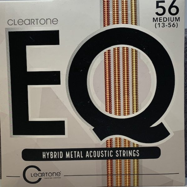 Cleartone EQ Hybrid Metal Acoustic Strings medium