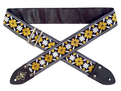 "Ace 5 ""Rooftop"" Vintage reissue guitar strap"