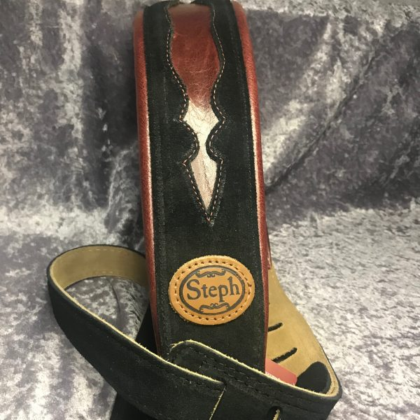 Steph GT706 guitar strap wine
