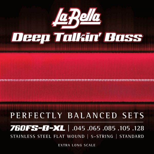 La Bella 760FS-B-XL Deep Talkin' Bass 5 string extra long