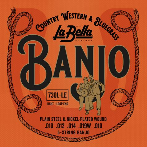 La Bella 730L-LE Banjo strings