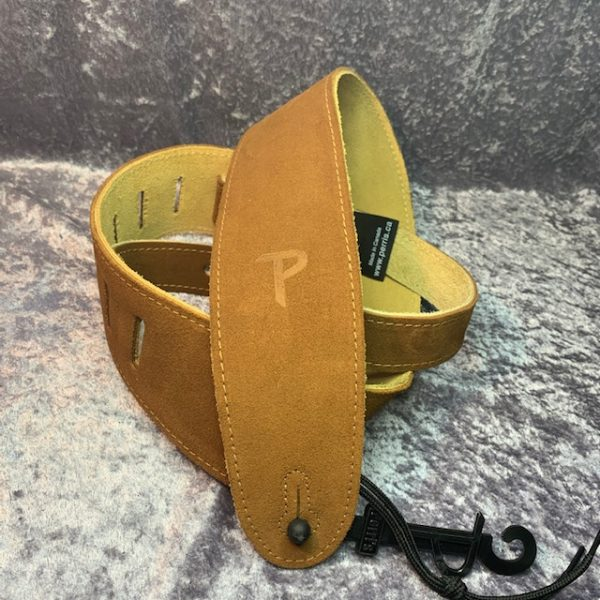 Perri's Leathers 2.5″ soft suede guitar strap