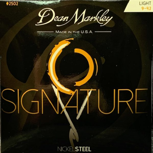 Dean Markley Signature electric guitar strings 9-42