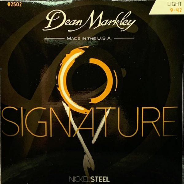 Dean Markley Signature electric guitar strings 9-42