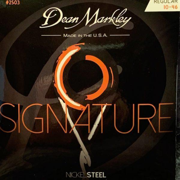 Dean Markley Signature electric guitar strings 10-46
